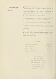 Page 82, 1936 Edition, Columbia University College of Pharmacy - Apothekan Yearbook (New York, NY) online yearbook collection