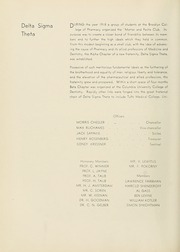 Page 88, 1936 Edition, Columbia University College of Pharmacy - Apothekan Yearbook (New York, NY) online yearbook collection