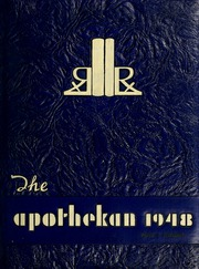 Page 1, 1948 Edition, Columbia University College of Pharmacy - Apothekan Yearbook (New York, NY) online yearbook collection