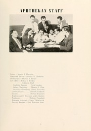 Page 13, 1948 Edition, Columbia University College of Pharmacy - Apothekan Yearbook (New York, NY) online yearbook collection