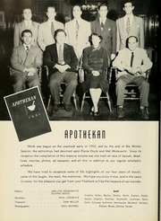 Page 68, 1951 Edition, Columbia University College of Pharmacy - Apothekan Yearbook (New York, NY) online yearbook collection