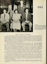 Page 70, 1951 Edition, Columbia University College of Pharmacy - Apothekan Yearbook (New York, NY) online yearbook collection
