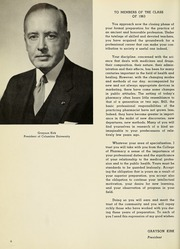 Page 10, 1963 Edition, Columbia University College of Pharmacy - Apothekan Yearbook (New York, NY) online yearbook collection