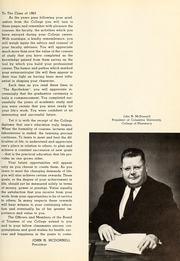 Page 11, 1963 Edition, Columbia University College of Pharmacy - Apothekan Yearbook (New York, NY) online yearbook collection