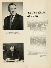 Page 12, 1965 Edition, Columbia University College of Pharmacy - Apothekan Yearbook (New York, NY) online yearbook collection
