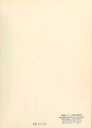 Page 3, 1967 Edition, Columbia University College of Pharmacy - Apothekan Yearbook (New York, NY) online yearbook collection