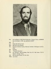Page 10, 1973 Edition, Columbia University College of Pharmacy - Apothekan Yearbook (New York, NY) online yearbook collection