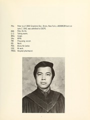 Page 11, 1973 Edition, Columbia University College of Pharmacy - Apothekan Yearbook (New York, NY) online yearbook collection