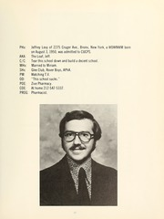 Page 15, 1973 Edition, Columbia University College of Pharmacy - Apothekan Yearbook (New York, NY) online yearbook collection