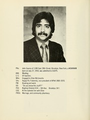Page 16, 1973 Edition, Columbia University College of Pharmacy - Apothekan Yearbook (New York, NY) online yearbook collection