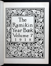 Page 7, 1918 Edition, Rochester Institute of Technology - Ramikin Yearbook (Rochester, NY) online yearbook collection