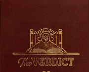 1921 Edition, Albany Law School - Verdict Yearbook (Albany, NY)