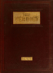 Albany Law School - Verdict Yearbook (Albany, NY) online yearbook collection, 1931 Edition, Page 1