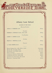 Page 10, 1931 Edition, Albany Law School - Verdict Yearbook (Albany, NY) online yearbook collection