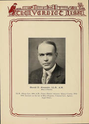 Page 14, 1931 Edition, Albany Law School - Verdict Yearbook (Albany, NY) online yearbook collection