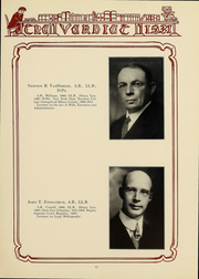 Page 15, 1931 Edition, Albany Law School - Verdict Yearbook (Albany, NY) online yearbook collection