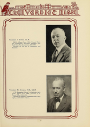 Page 17, 1931 Edition, Albany Law School - Verdict Yearbook (Albany, NY) online yearbook collection