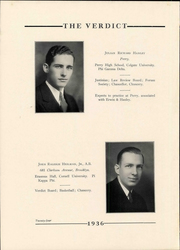 Page 28, 1936 Edition, Albany Law School - Verdict Yearbook (Albany, NY) online yearbook collection