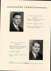 Page 30, 1936 Edition, Albany Law School - Verdict Yearbook (Albany, NY) online yearbook collection