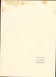 Page 5, 1936 Edition, Albany Law School - Verdict Yearbook (Albany, NY) online yearbook collection