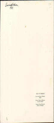 Page 7, 1937 Edition, Albany Law School - Verdict Yearbook (Albany, NY) online yearbook collection