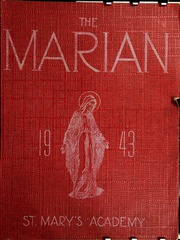 St Marys Academy - Marian Yearbook (Ogdensburg, NY) online yearbook collection, 1943 Edition, Page 1