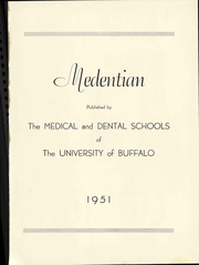 Page 7, 1951 Edition, University at Buffalo School of Dental Medicine - Reflector Yearbook (Buffalo, NY) online yearbook collection