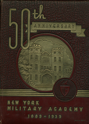 1939 Edition, New York Military Academy - Shrapnel Yearbook (Cornwall on Hudson, NY)