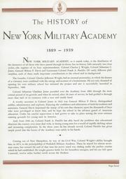 Page 11, 1939 Edition, New York Military Academy - Shrapnel Yearbook (Cornwall on Hudson, NY) online yearbook collection