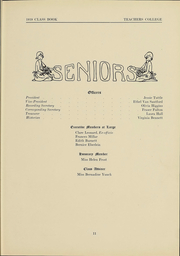 Page 10, 1919 Edition, Columbia University Teachers College - Tower Yearbook (New York, NY) online yearbook collection
