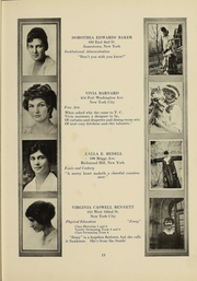 Page 12, 1919 Edition, Columbia University Teachers College - Tower Yearbook (New York, NY) online yearbook collection