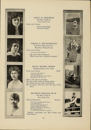 Page 13, 1919 Edition, Columbia University Teachers College - Tower Yearbook (New York, NY) online yearbook collection