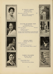 Page 15, 1919 Edition, Columbia University Teachers College - Tower Yearbook (New York, NY) online yearbook collection