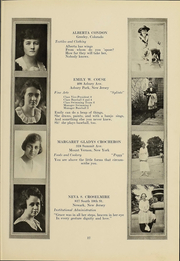 Page 16, 1919 Edition, Columbia University Teachers College - Tower Yearbook (New York, NY) online yearbook collection