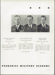 Page 17, 1941 Edition, Peekskill Military Academy - Reveille Yearbook (Peekskill, NY) online yearbook collection