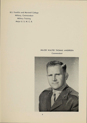 Page 12, 1957 Edition, Peekskill Military Academy - Reveille Yearbook (Peekskill, NY) online yearbook collection