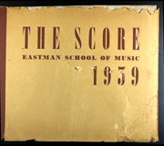 1939 Edition, Eastman School of Music - Score Yearbook (Rochester, NY)