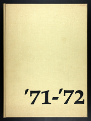 1972 Edition, Eastman School of Music - Score Yearbook (Rochester, NY)