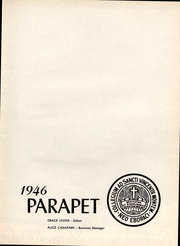 Page 2, 1946 Edition, College of Mount St Vincent - Parapet Yearbook (Bronx, NY) online yearbook collection