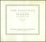 Page 7, 1928 Edition, Poly Prep Country Day School - Polyglot Yearbook (Brooklyn, NY) online yearbook collection