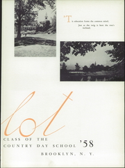 Page 7, 1958 Edition, Poly Prep Country Day School - Polyglot Yearbook (Brooklyn, NY) online yearbook collection