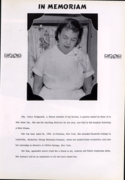 Page 8, 1959 Edition, WCA Hospital School of Nursing - Lamplighter Yearbook (Jamestown, NY) online yearbook collection