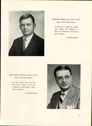 Page 15, 1951 Edition, University at Buffalo School of Medicine - Yearbook (Buffalo, NY) online yearbook collection