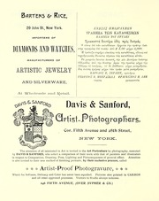 Page 10, 1894 Edition, Barnard College - Mortarboard Yearbook (New York, NY) online yearbook collection