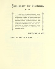 Page 11, 1894 Edition, Barnard College - Mortarboard Yearbook (New York, NY) online yearbook collection