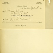 Page 3, 1900 Edition, Barnard College - Mortarboard Yearbook (New York, NY) online yearbook collection
