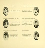 Page 121, 1903 Edition, Barnard College - Mortarboard Yearbook (New York, NY) online yearbook collection