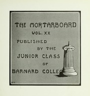 Page 13, 1914 Edition, Barnard College - Mortarboard Yearbook (New York, NY) online yearbook collection