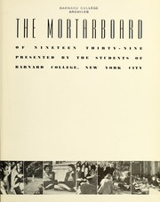 Page 7, 1939 Edition, Barnard College - Mortarboard Yearbook (New York, NY) online yearbook collection