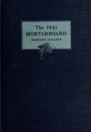 Page 1, 1941 Edition, Barnard College - Mortarboard Yearbook (New York, NY) online yearbook collection